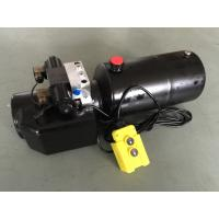 China DC 12V 1.6KW  Work Pressure 18Mpa with Round Steel Tank Mini Hydraulic Power Packs for Fork-lifts wholesale