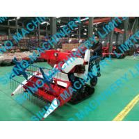4L-0.7 mini wheat rice combine harvester with crawler Manufactures