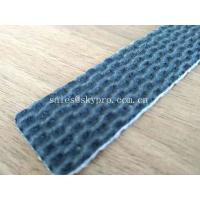 Low Noise PVC PU Conveyor Belt With Fabric Fire Resistant Rubber , Customized Colors Manufactures