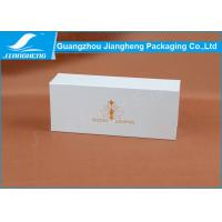 Recyclable Empty Cardboard Gift Boxes Custom Logo Printed Packaging , 15*6*4CM Manufactures