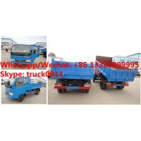 China High quality and competitive price CLW brand 4*2 RHD diesel 3tons mini dump truck for sale, tipper vehicle for sale wholesale
