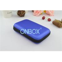 Fashion Blue Printed Gift Boxes Headphone Carrying Case For Ipad / Ipad Mini Manufactures