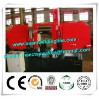 China Horizontal Bandsaw Pipe Bevelling Machine For Structural Steel Fabricators on sale