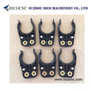 China Black BT30 Tool Holder Clips Plastic CNC Tool Forks for BT30, BT Tool Changer Gripp,er for CNC Router on sale