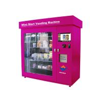 Prepaid Cards Cigarette Vending , Advanced Remote Control Cosmetics Vending Services Kiosk Manufactures