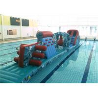 Exciting Inflatable Obstacle Course Floating Inflatable Water Obstacle Course For Games Manufactures