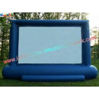 China Professional Projection Inflatable Movie Home Theater Screens , Backyard Cinema on sale