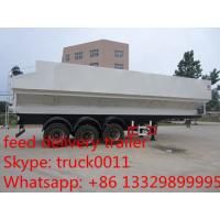 high quality 45cbm feed pellet transportation trailer for sale Manufactures