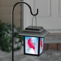 China 2012 Hot Selling Outdoor LED Solar Red Garden Lantern on sale