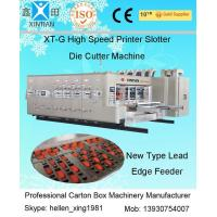 High Speed Corrugated Carton Box Making Machine Cardboard Printing Slotting Die Cutter Manufactures