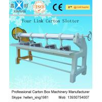 Four Link Slotting Machine , Carton Paper Corrugated Box Making Machinery Manufactures