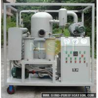Fixing Type Vacuum Oil Purifier Working Pressure Mpa ≤ 0.2 380V/3P/50Hz Low Noise