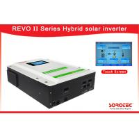 Buy cheap 1 Ph in / 1 Ph out 3kW 4kW 5kW Hybrid Solar Inverter with Lcd Touch Screen from wholesalers