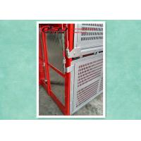 China Rack & Pinion Building Construction Cage Hoist , Passenger And Material Hoist on sale