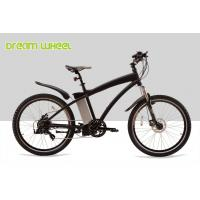 China Aluminum Electric Mountain Bikes E Bicycle 26 Inch Black Red White High Performance wholesale