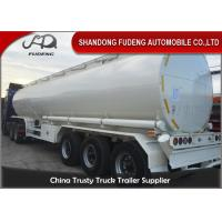 China Round 40000L 45000L 50000L Diesel Oil Fuel Tanker Semi Trailer on sale