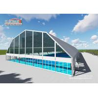 China 30m Width Polygon Outdoor Sports Tent With Aluminum Frame / PVC Fabric on sale