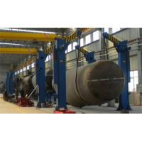 UL Pipe Stand Roller Oval Tank Turning Rotator Chain Tilting Machine Manufactures
