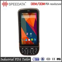 Touchscreen Handheld Android Barcode Scanners QR PDF417 With Rfid Reader Manufactures
