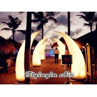 Buy cheap Hot 2m Crooked Inflatable Light Cone for Party Supplies and Outdoor Decoration from wholesalers