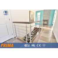 China modern design customized indoor stainless steel railings design wholesale