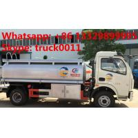 factory sale dongfeng fuel tank truck with competitive price, 2017s best price CLW 5000Liters oil dispensing truck Manufactures
