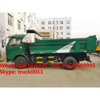 China dongfeng 6 wheel dump truck with tarp cover Specifications of dongfeng 6 wheel dump truck/ tipper truck with tarp cover wholesale