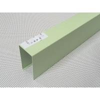 Galvanized Steel Light Blue Baffle Linear Metal Ceiling Powder Coated for Hospitals Manufactures