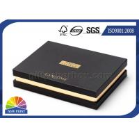 Upscale Custom Rigid Paper Gift Box Packaging Hot Stamping For Cosmetics Manufactures