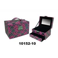 Stackable Drawer Personalised Leather Jewellery Box Eco Friendly 9X10X8 CM Manufactures