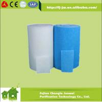 China JW Spray booth filter, pre filter, air intake filter, air inlet synthetic filter media material/ fabric on sale