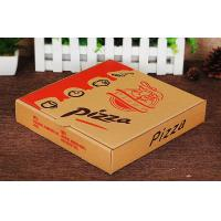 Pizza Packaging Kraft Paper Food Boxes , Custom Merchandise Packaging Boxes Manufactures