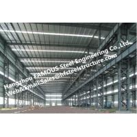 Fabricated Steel Industrial Steel Buildings with Galvanized steel Surface treatment Manufactures