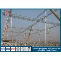 China Q345 Steel Structures for Transmission Line Project on sale