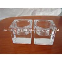 High quality glass candle holder for decoration Manufactures