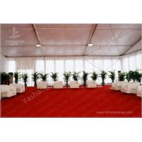 Outdoor Aluminum Structure White Event Tents With Double Wing Glass Door Manufactures