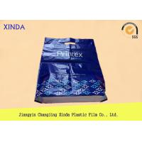 HDPE Promotional Plastic Bags , Side Gusset Plastic Shopping Bags with Handles