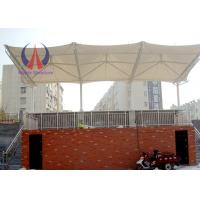 Membrane Sail Playground Shade Canopy Atypical Grid Shade Net Structures For Sport Facility