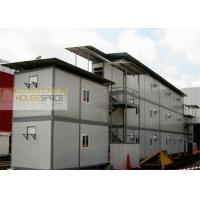 Green Fireproofed Prefab Warehouse Buildings Expandable for Workshop Manufactures