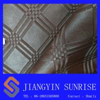 High Abrasion Pvc Artificial Leather Abrasion Resistant Fake Leather Material Manufactures