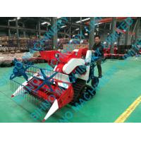 4LZ-0.7 1.2 Meter cut width mini rice and wheat combine harvester, small paddy harvester Manufactures