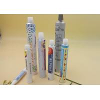 China 25g Flexible Printed Tube Packaging 100% Recyclable Custom Length / Logo wholesale