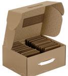 China Hard White Corrugated Boxes For Shipping / Moving , UV Coating ISO 9001 Approved wholesale