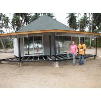 New design Prefab Bali Bungalow , Overwater Bungalows For Seaside Manufactures