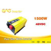 off grid solar inverter 1000w 1500w 50HZ/60HZ 48v-240v power dc ac inverter Manufactures