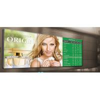 China 1080P Hotel Advertising Multi Screen Video Wall , 46 inch LCD Display Screen wholesale