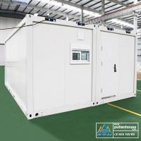 Steel prefabricated Container Modular Homes Mobile House With Steel Door Manufactures