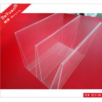 New Design Acrylic Brochure Display Stand PMMA / Organic Glass / Plexiglass Manufactures