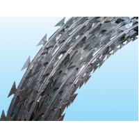 China Iron / Stainless Steel Galvanized Barbed Wire Length 10MM - 65MM Neat Appearance wholesale