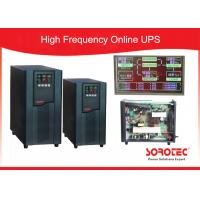 1Ph in / 1Ph out online High Frequency Ups with Large LCD display , RS232 / SNMP / USB Optional Manufactures